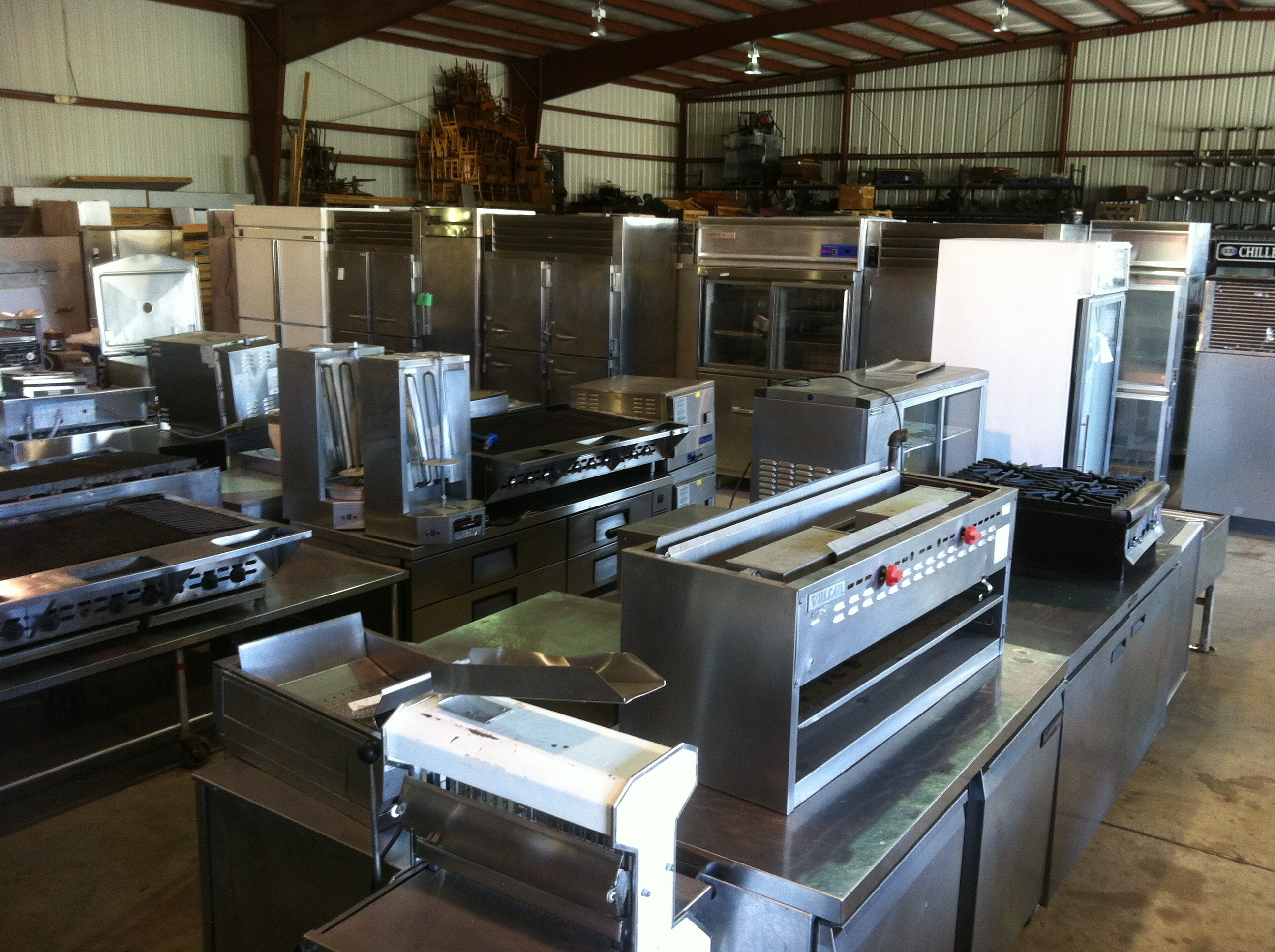 Used ice machines tampa one fat frog restaurant equipment for Equipement cafe