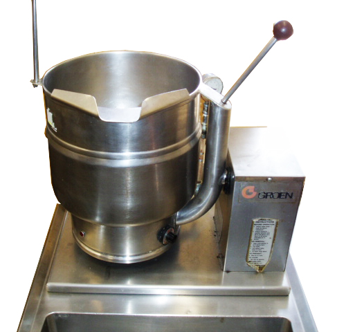 groen electric tilt kettles for sale frog technical website. Black Bedroom Furniture Sets. Home Design Ideas
