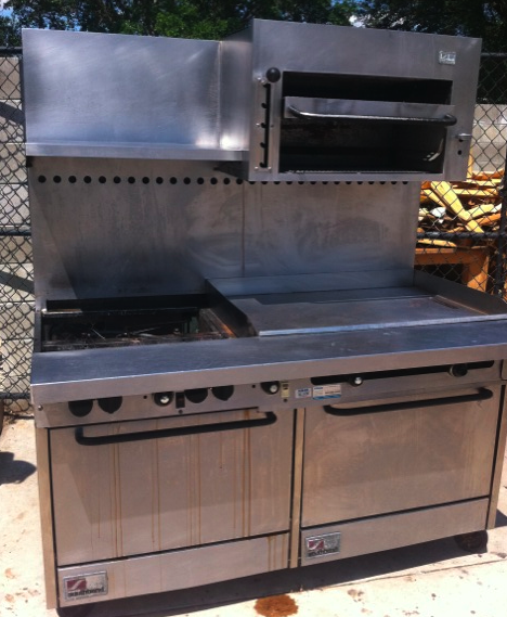 Industrial Kitchen Ovens For Sale: Used Southbend Double Range Oven For Sale