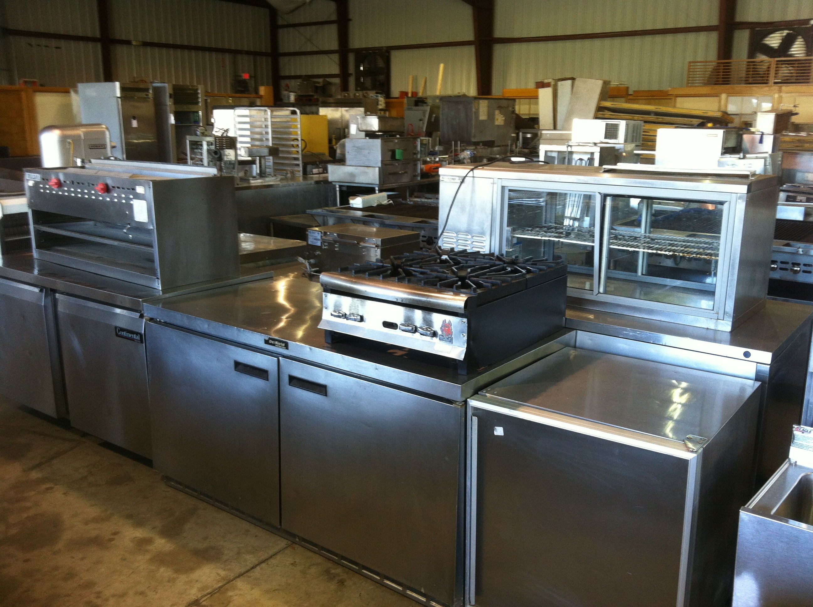 So, So Much Used Restaurant Equipment Just Arrived. – Frog ...