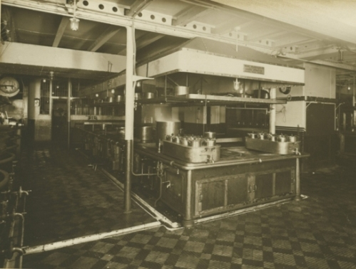 By TWAM - Tyne & Wear Archives & Museums (Kitchens - Mauretania  Uploaded by Fæ) [see page for license], via Wikimedia Commons